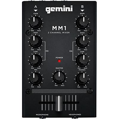 Gemini MM1 2 Channel Audio Mixer