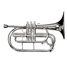 MM1 Series Marching F Mellophone MM1S Silver