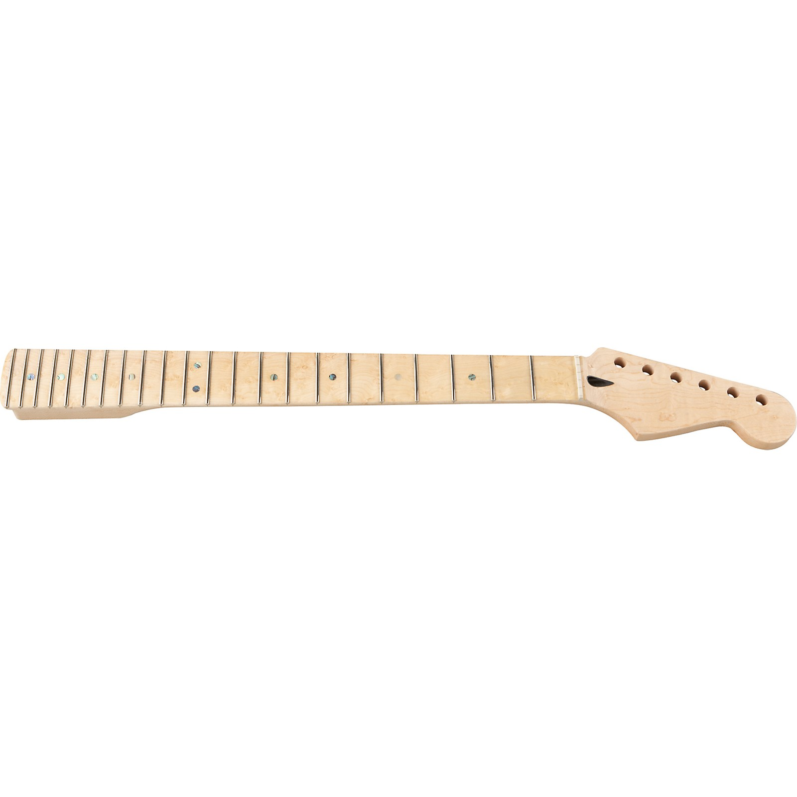 Mighty Mite MM2925 Bird's Eye Stratocaster Replacement Neck with Maple Fingerboard and Jumbo Frets