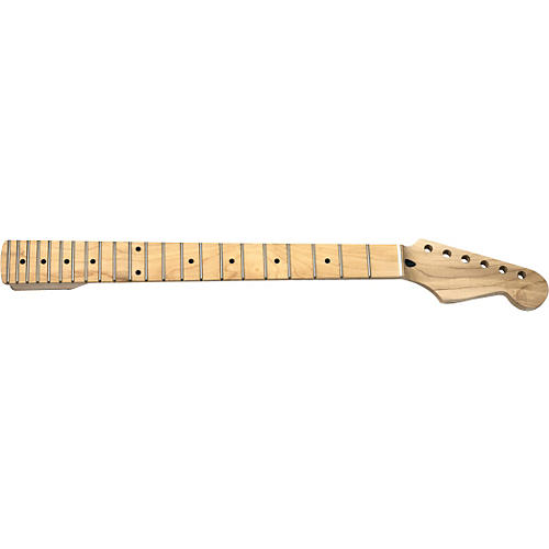 Mighty Mite MM2928 Stratocaster Replacement Neck with Maple Fingerboard and Jumbo Frets