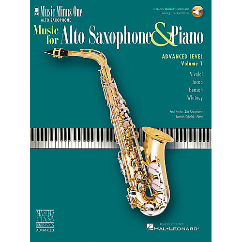 Hal Leonard MMOCD4115 Alto Sax Solos