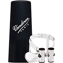 Vandoren M|O Ligature and Plastic Cap for Alto Saxophone - Pink Gold
