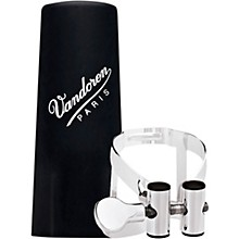 Vandoren M|O Ligature and Plastic Cap for Bb Clarinet - Pink Gold