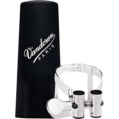 Vandoren M|O Ligature and Plastic Cap for Bb Clarinet - Pink Gold
