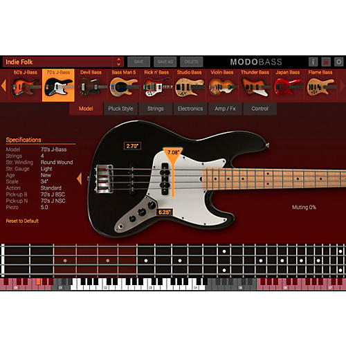 IK Multimedia MODO Bass CrossGrade (Boxed)