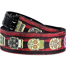 Right On MOJO Skulls Guitar Straps