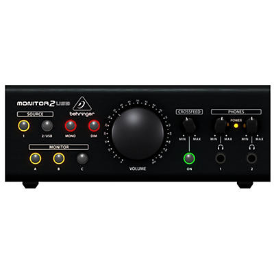 Behringer MONITOR2USB Monitoring Controller