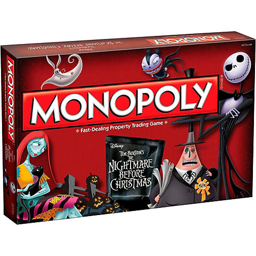 USAOPOLY MONOPOLY: Tim Burton's The Nightmare Before Christmas