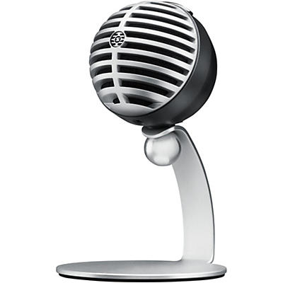Shure MOTIV MV5 Digital Condenser Microphone With USB and Lightning Cables Included (Previous Version)