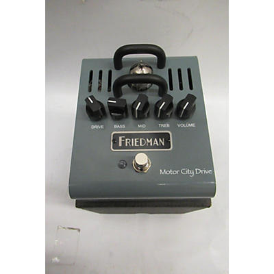 Friedman MOTOR CITY DRIVE Effect Pedal