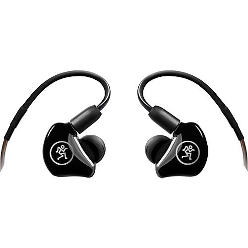 Mackie MP-120 Single Dynamic Driver Professional In-Ear Monitors Black