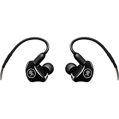 Mackie MP-220 Dual Dynamic Driver Professional In-Ear Monitors Condition 1 - Mint Black