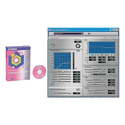 Yamaha MP-31H Vocal Rack Plug In Effect CD