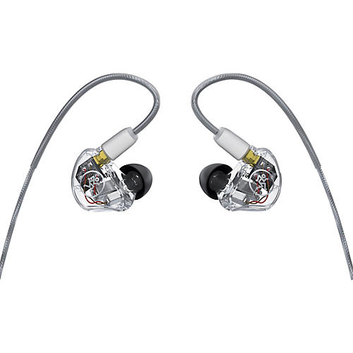 Mackie MP-460 In-Ear Monitors With Quad Balanced Armature Clear