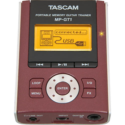 Tascam MP-GT1 Portable MP3 Guitar Trainer