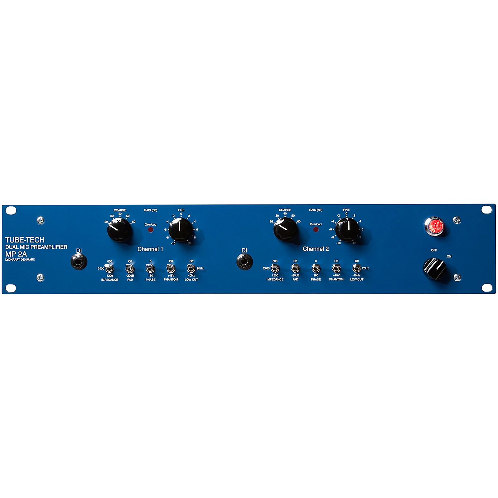 Tube-Tech MP2A Dual Mic Preamp and DI