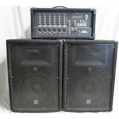Yorkville MP6D MIXER WITH YX12 SPEAKERS Sound Package