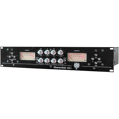 Charter Oak Acoustics MPA-1 Dual Channel Microphone Preamp ...
