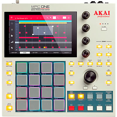 Akai Professional MPC One Standalone Music Production Center - Retro Edition