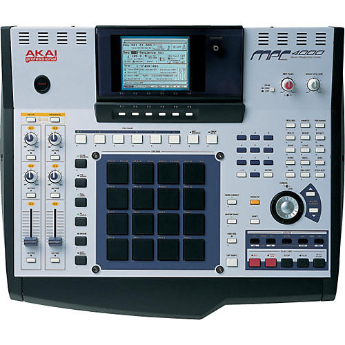 Akai Professional MPC4000 Plus Production Station with CD Burner