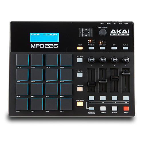 akai professional mpd226 pad controller musician 39 s friend. Black Bedroom Furniture Sets. Home Design Ideas