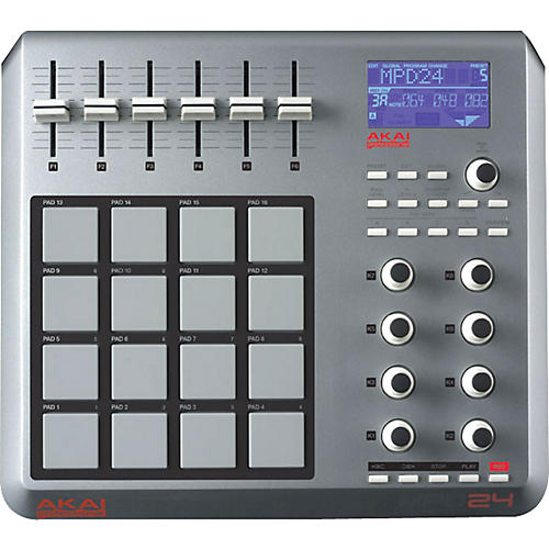 Akai Professional MPD24 USB/MIDI Pad Controller