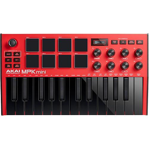 Akai Professional MPK Mini MK3 Keyboard Controller Red