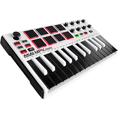 Akai Professional MPK mini MKII Controller Limited Edition White