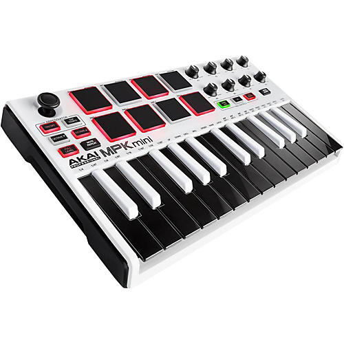 Akai Professional MPK mini MKII Limited Edition White