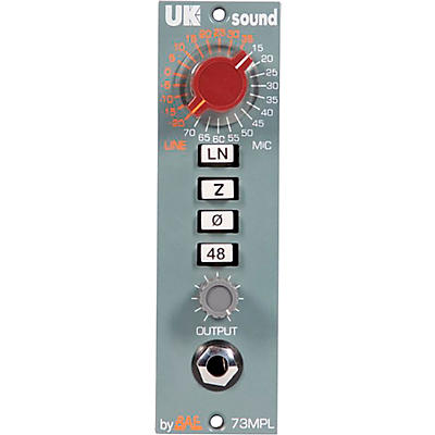 UK Sound MPL 500 Series Mic Pre