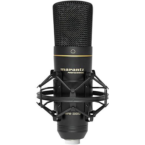Marantz Professional MPM-2000U, USB Studio-Quality Condenser Microphone