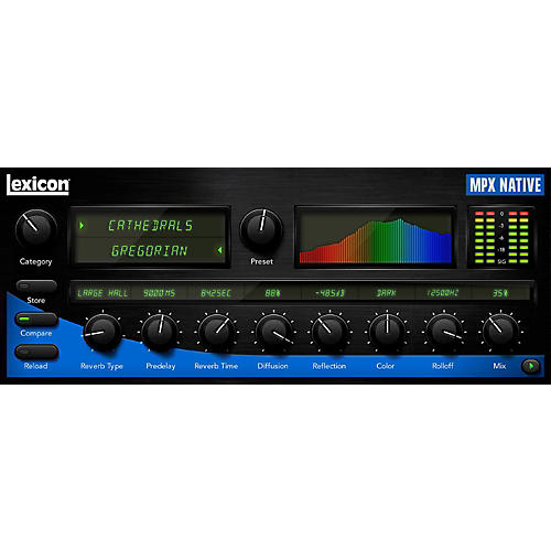 Lexicon MPX Native Reverb Plug-In Software Download