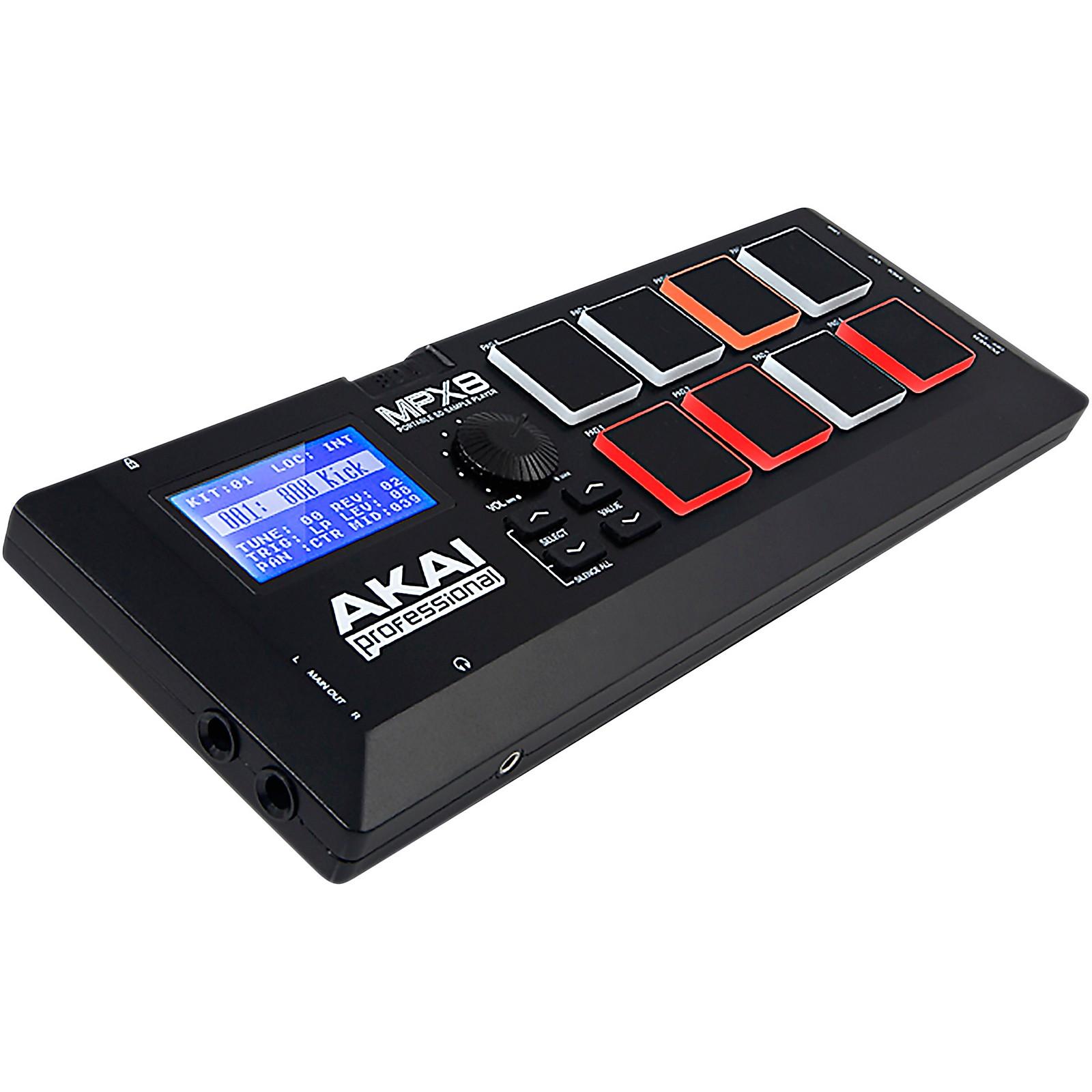Akai Professional MPX8SD Sample Player