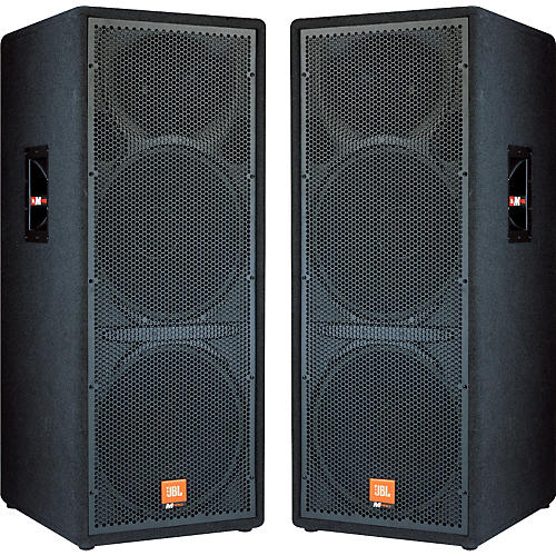 jbl mpro mp225 speaker system pair musician 39 s friend. Black Bedroom Furniture Sets. Home Design Ideas
