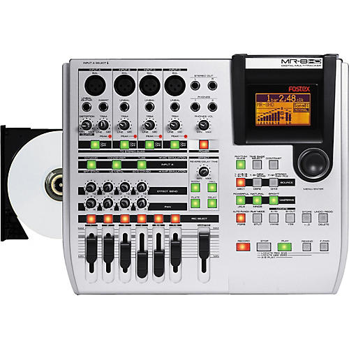 Fostex MR-8HD CD 8-Track Recorder with CDR