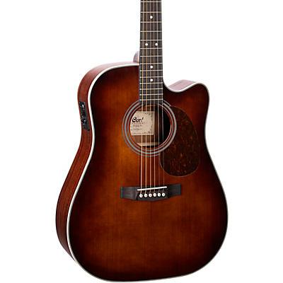 Cort MR500E MR Series Dreadnought Venetian Cutaway Acoustic-Electric Guitar