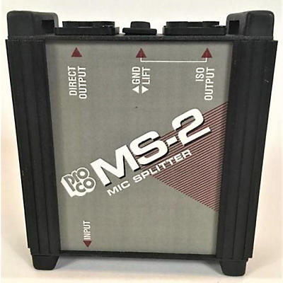 Pro Co MS-2 Mic Splitter Microphone Preamp
