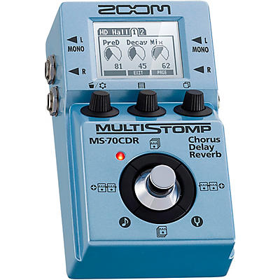 Zoom MS-70CDR MultiStomp Effects Pedal