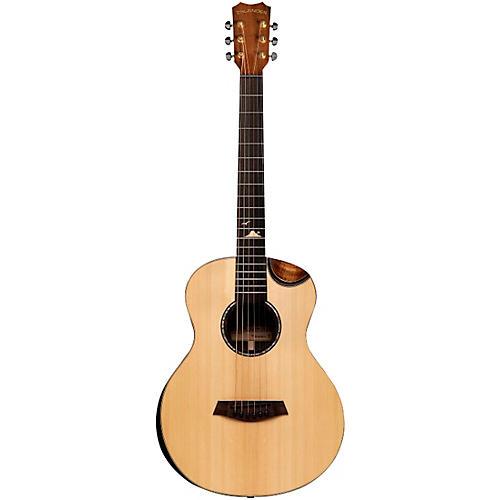 Islander MS-MG-EQ Acoustic-Electric Mini Guitar Natural