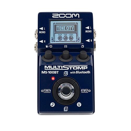 Zoom MS100BT Multistomp Pedal w/ Bluetooth Multi FX Pedal
