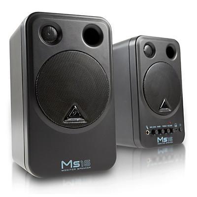 "Behringer MS16 4"" Powered Studio Monitos (Pair)"
