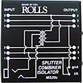 Rolls MS20 Mic Splitter thumbnail
