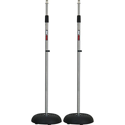 Proline MS235CR Round Base Mic Stand 2 Pack