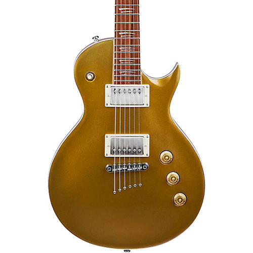 Mitchell MS450 Modern Single-Cutaway Electric Guitar Gold Sparkle
