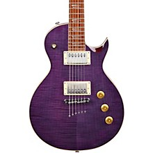 MS450 Shallow Body Single Cutaway Electric Guitar Flame Purple
