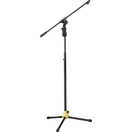 Hercules Stands MS651B Tripod Boom Microphone Stand with 2-in-1 Clamp