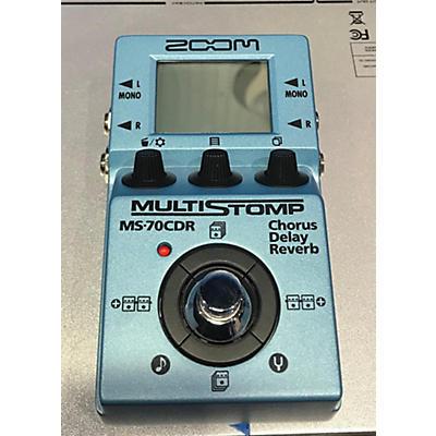 Zoom MS70CDR Effect Processor