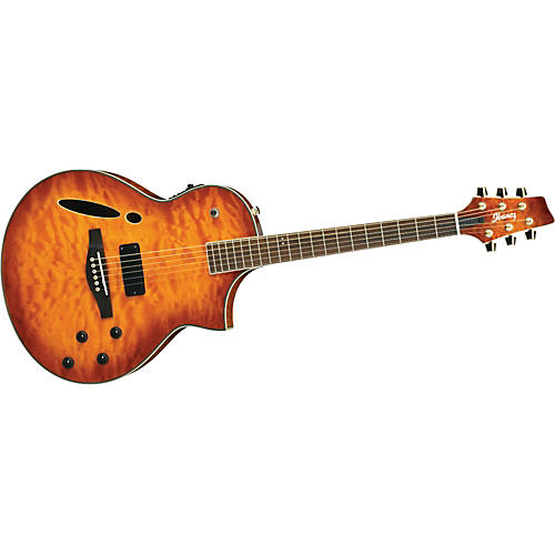ibanez msc380qm montage acoustic electric guitar quilt maple top musician 39 s friend. Black Bedroom Furniture Sets. Home Design Ideas
