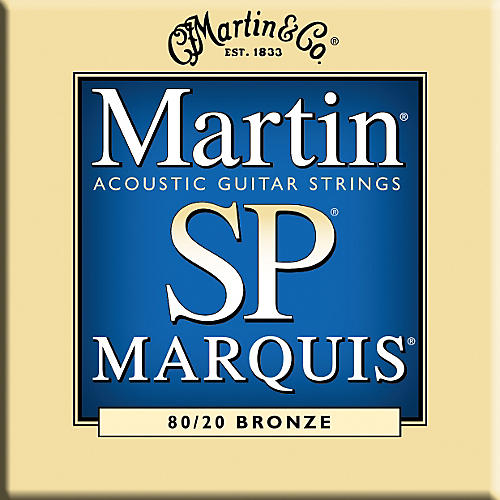 Martin MSP1200 Marquis 80/20 Bronze Medium Acoustic Guitar Strings