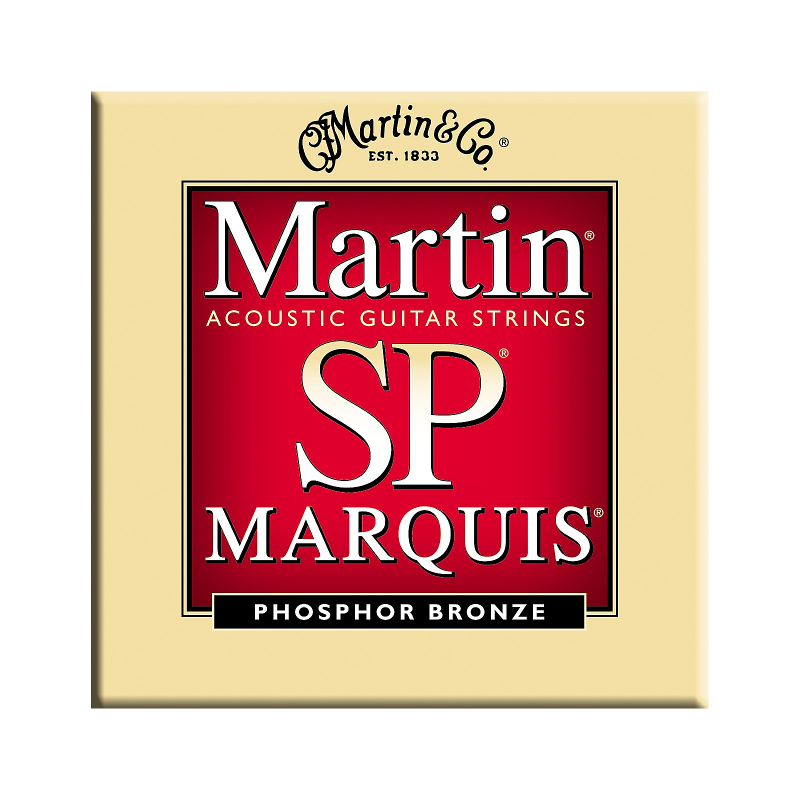 Martin MSP2100 Marquis 92/8 Phosphor Bronze Light Guitar Strings